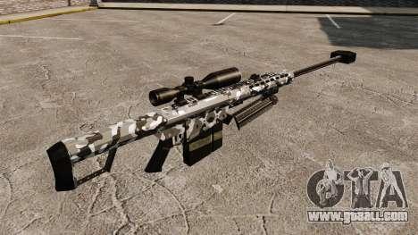 The Barrett M82 sniper rifle v15 for GTA 4 second screenshot