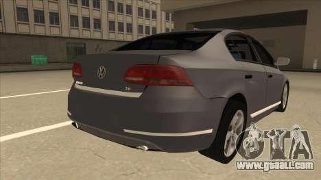 Volkswagen Passat 2.0 Turbo for GTA San Andreas right view