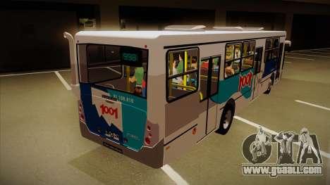 Busscar Urbanuss Pluss 2009 for GTA San Andreas right view
