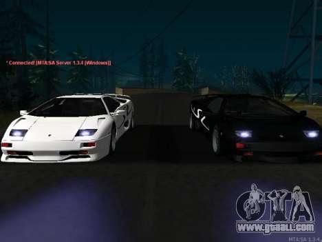Lamborghini Diablo SV v2 for GTA San Andreas