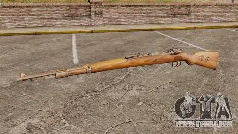 Mauser Karabiner 98 k repeating rifle for GTA 4 third screenshot
