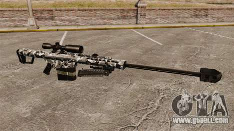 The Barrett M82 sniper rifle v15 for GTA 4