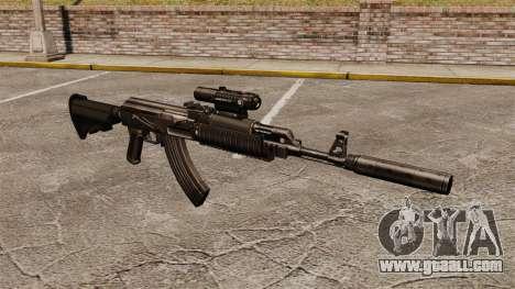 AK-47 (tactical) for GTA 4