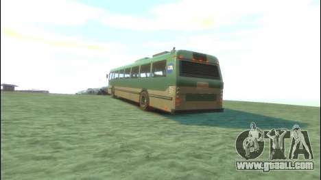 Bus from GTA 5 for GTA 4 back left view