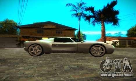 Bullet GT32 Big Spoiler for GTA San Andreas left view
