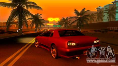 Elegy 2013 JDM for GTA San Andreas back left view