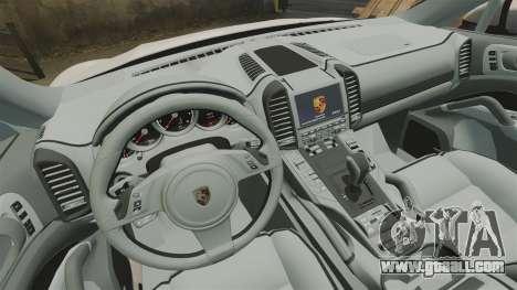 Porsche Cayenne Turbo 2012 v3.5 for GTA 4 inner view