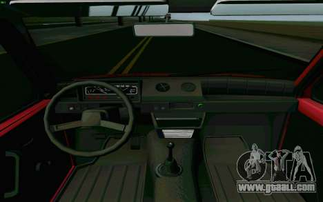 Kamaz Oka for GTA San Andreas inner view