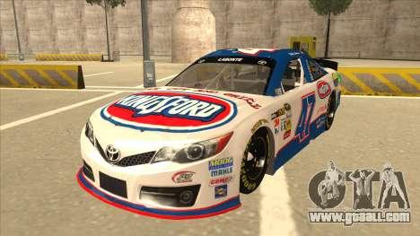 Toyota Camry NASCAR No. 47 Kingsford for GTA San Andreas