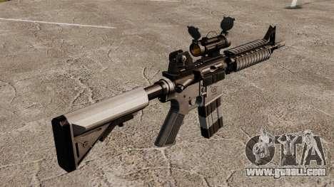 Automatic carbine M4 CQBR v2 for GTA 4 second screenshot