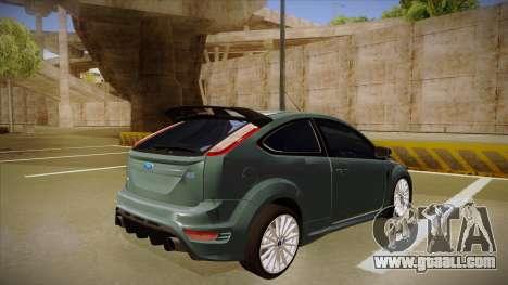 Ford Focus RS 2010 for GTA San Andreas right view