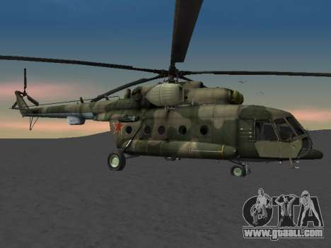 MI-8 for GTA San Andreas upper view