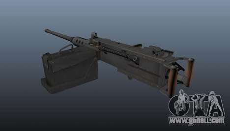 Maxim machine gun Browning M2HB for GTA 4 second screenshot