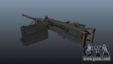 Maxim machine gun Browning M2HB for GTA 4 second screenshot
