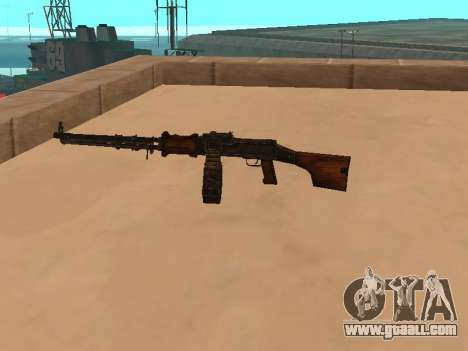 Light machine gun (RAP) [citation needed] for GTA San Andreas second screenshot