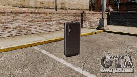 Communicator ZTE Blade for GTA 4 third screenshot