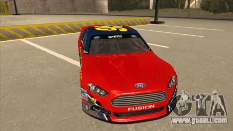 Ford Fusion NASCAR No. 95 for GTA San Andreas left view