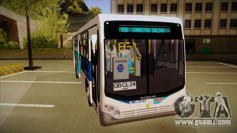 Busscar Urbanuss Pluss 2009 for GTA San Andreas left view