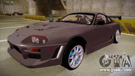 Toyota Supra RZ for GTA San Andreas