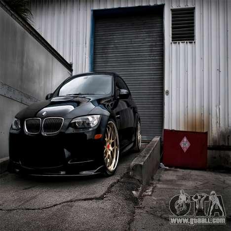 BMW boot screen for GTA 4 eighth screenshot