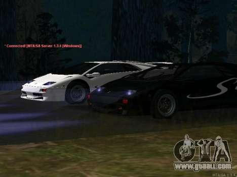 Lamborghini Diablo SV v2 for GTA San Andreas left view