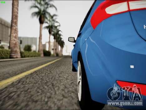 Hyundai ix20 for GTA San Andreas right view