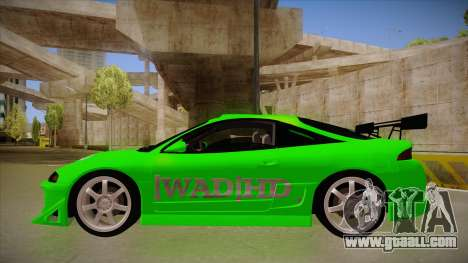 Mitsubishi Eclipse GSX 1996 [WAD]HD for GTA San Andreas back left view