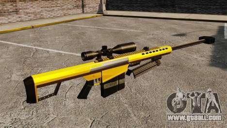 The Barrett M82 sniper rifle v3 for GTA 4 second screenshot