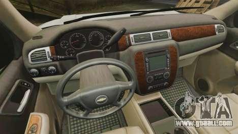 Chevrolet Tahoe Slicktop [ELS] v1 for GTA 4 back view
