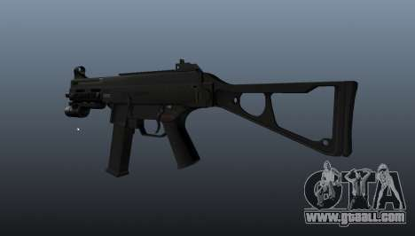 UMP45 submachine gun v2 for GTA 4 second screenshot
