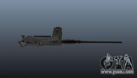 Maxim machine gun Browning M2HB for GTA 4 third screenshot