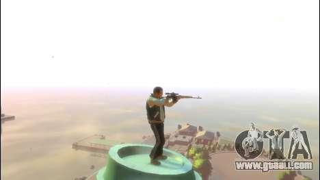 Dragunov Sniper Rifle for GTA 4