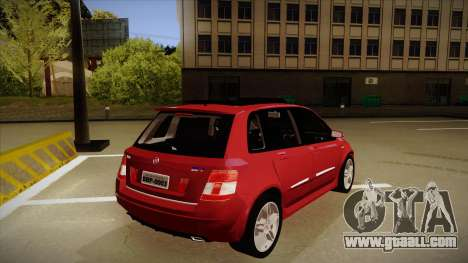 FIAT Stilo Sporting 2009 for GTA San Andreas right view