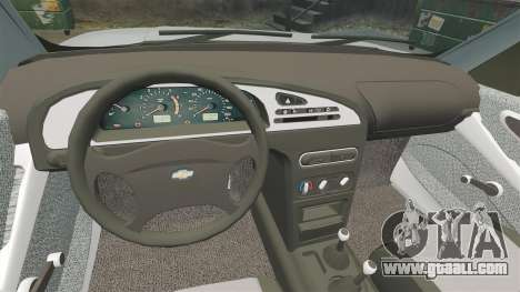 Vaz-2123 v1.1 for GTA 4 inner view
