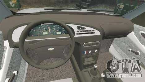 Vaz-2123 v1.1 for GTA 4 inner view