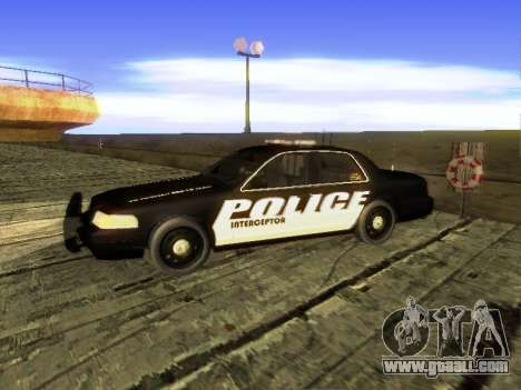 Ford Crown Victoria Police Interceptor for GTA San Andreas left view