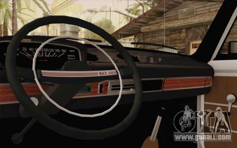 VAZ 21011 medical assistance for GTA San Andreas inner view