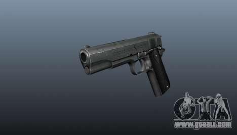Pistol M1911 v3 for GTA 4