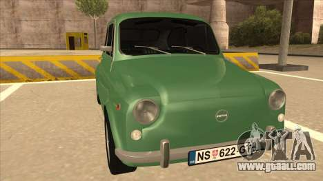Zastava 750 Classic for GTA San Andreas left view
