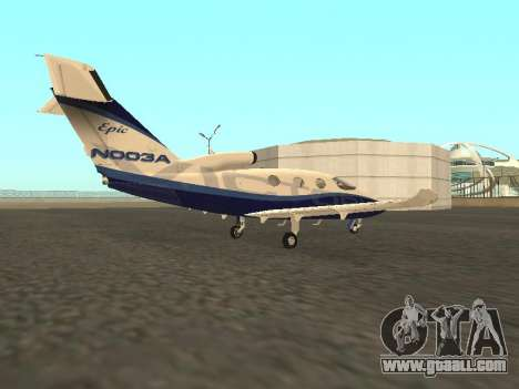 The Epic Victory of Microsoft Flight Simulator for GTA San Andreas left view