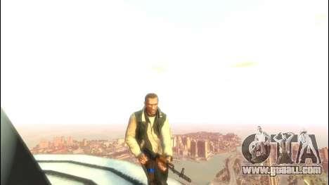 AKS-47 for GTA 4 forth screenshot