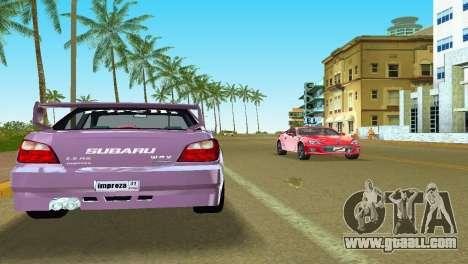 Subaru Impreza WRX v1.1 for GTA Vice City side view