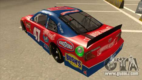 Toyota Camry NASCAR No. 47 House-Autry for GTA San Andreas back view