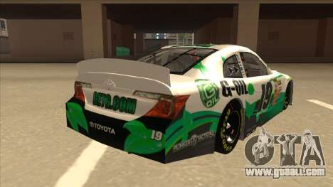 Toyota Camry NASCAR No. 19 G-Oil for GTA San Andreas right view