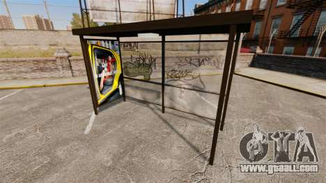 Real advertising at bus stops for GTA 4 fifth screenshot