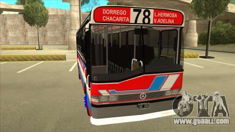 Mercedes-Benz OHL-1320 Linea 78 Los Andes for GTA San Andreas left view