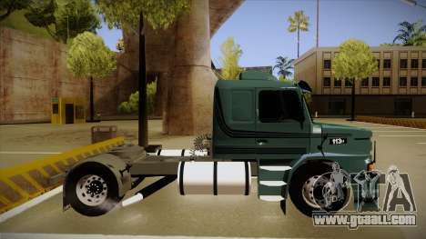 Scania 113H for GTA San Andreas back left view
