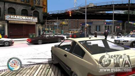 Map-Radar-HUD Pack for GTA 4 sixth screenshot