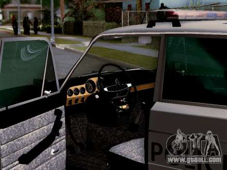 VAZ 2106 Los Santos Police for GTA San Andreas engine
