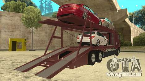 International 9700 Car Hauler for GTA San Andreas right view